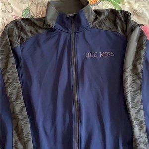 EUC Nike Ole Miss Zip Up Jacket in XL (Bin E)